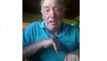 Video: pedido desesperado del dueño de la pyme láctea bloqueda por gremialistas