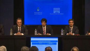 """Lacunza: """"Se amplía la disponibilidad del BCRA para intervenir en el tipo de cambio"""""""