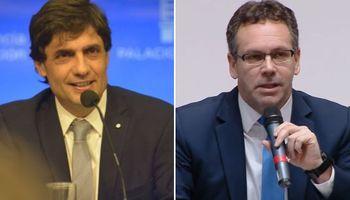 Dólar, meta fiscal y tasas: las principales señales de Lacunza y Sandleris