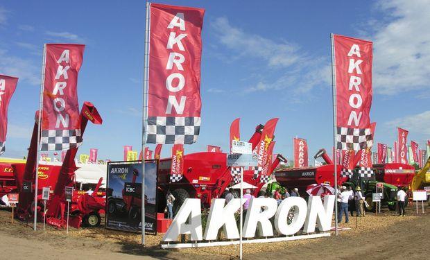 Los equipos AKRON se mostrarán en el stand n° 720 y funcionarán a pleno en las demostraciones dinámicas.