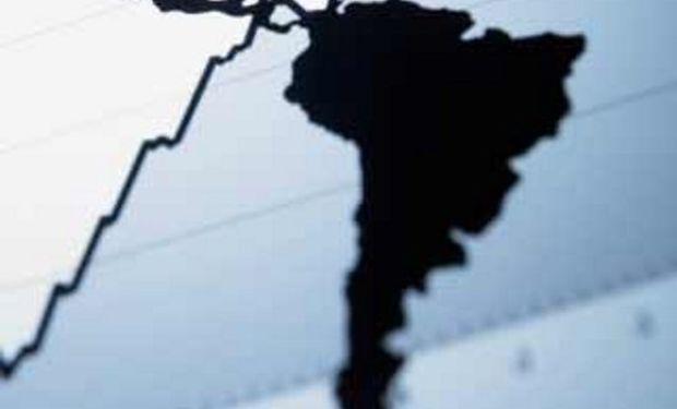 Tendencia de crecimiento económico negativo para Latinoamérica