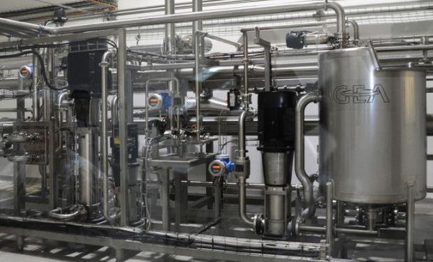 Precios de exportación de la leche en polvo argentina cayeron el mes pasado.