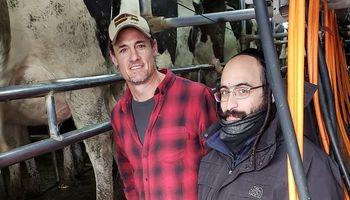 Desde Henderson, cómo es producir leche kosher y un creativo modo de comercializar la producción