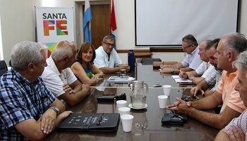 Santa Fe acordó una agenda de trabajo con la cadena láctea