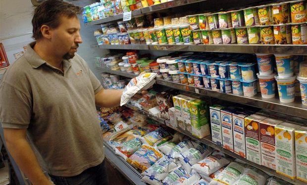 Las ventas de lácteos sufrieron una dura caída.