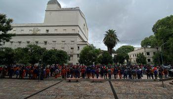 Movilización en Tucumán para pedir la aprobación de la prórroga de la Ley de Biocombustibles