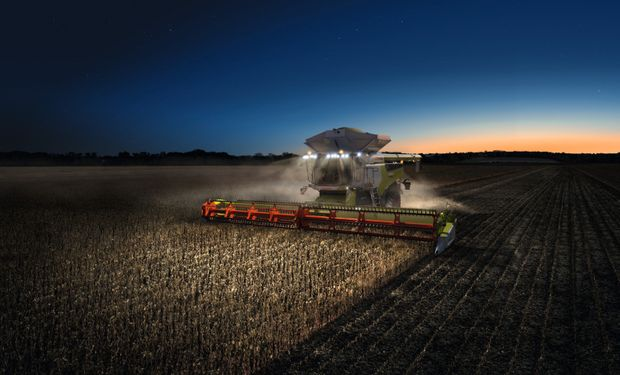 Lanzan una nueva generación de cosechadoras en Argentina: ganó la Medalla Máquina del Año 2020