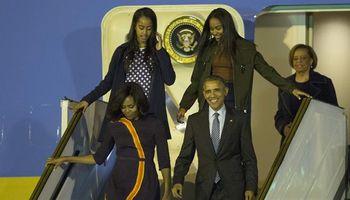 Cómo fue la llegada de Barack Obama a la Argentina