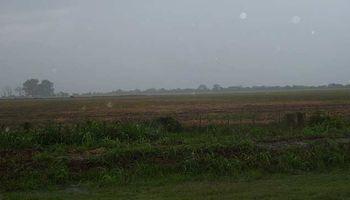 Primero lluvia, luego mucho frío