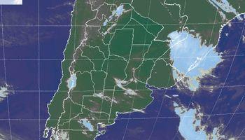 Posibles lloviznas sobre regiones del centro