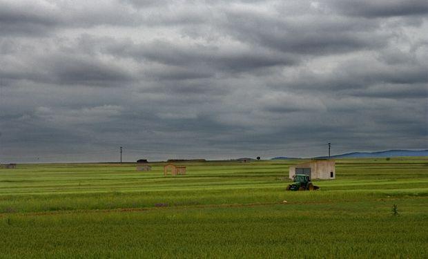 Cielo nublado, probabilidad de lluvias y lloviznas