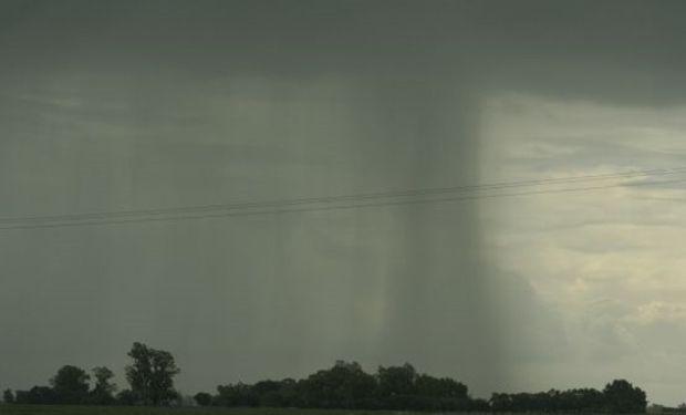Desde el 25 al 29 de marzo hubo lluvias de más de 100 mm en el centro de La Pampa.