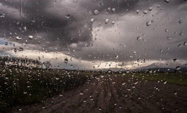 El Servicio Meteorológico emitió un alerta por lluvias y tormentas para zona núcleo