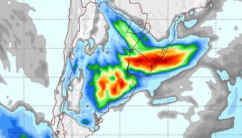 De nuevo, importantes lluvias: el detalle del pronóstico del tiempo para los próximos días