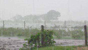 Una localidad quedó cerca de batir el récord de lluvias acumuladas durante 24 horas