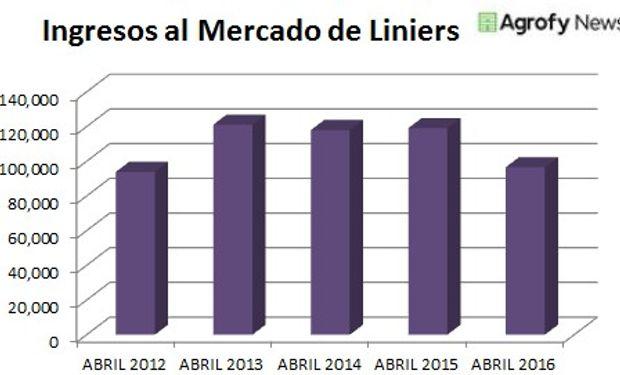 Impacto de las lluvias de abril en los ingresos de Liniers.