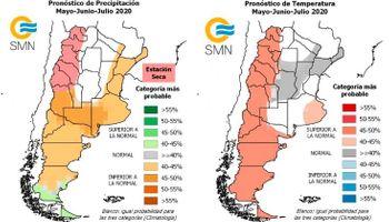 Pronóstico del clima para los próximos meses: qué dice el Servicio Meteorológico Nacional