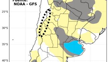 Pronóstico tiempo: podrían darse lluvias de más de 20 mm en Córdoba