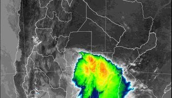 Importante evento de inestabilidad con lluvias y tormentas: acumulados hasta la mañana de hoy