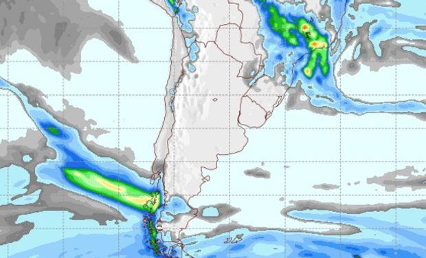 Pronóstico de lluvias 6 de noviembre de 2016.