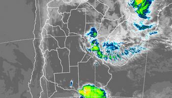 Sobre Santa Fe y Entre Ríos se mantienen las chances de precipitaciones