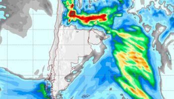 Para el norte: un informe especial advierte por abundantes precipitaciones al menos hasta el jueves
