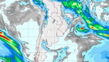Recién el martes podría haber lluvias: qué zonas serían las alcanzadas