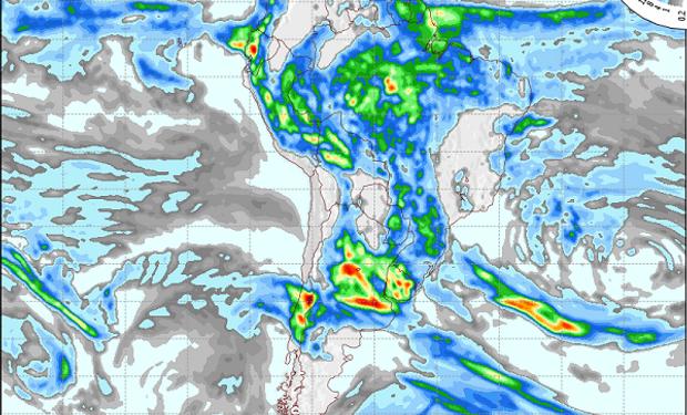 Para los próximos días, sobre todo el domingo: anticipan coberturas de lluvias generalizadas