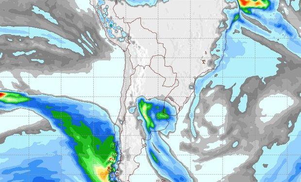 Pronóstico de lluvias para el 6 de julio.