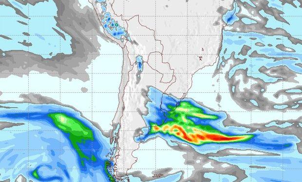 Pronóstico de lluvias para el miércoles 30 de agosto.