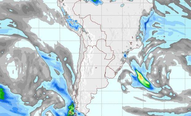 Pronóstico de lluvias para el 18 de septiembre.