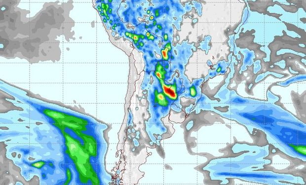 Pronóstico de lluvias para el 29 de septiembre.