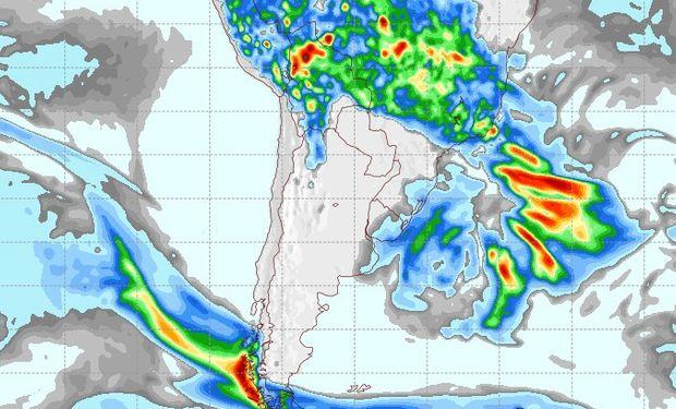 Pronóstico lluvias 12 de noviembre.