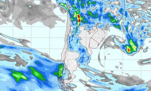Pronóstico de lluvias para el 17 de febrero.
