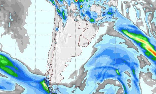 Pronóstico de lluvias para el 5 de octubre.