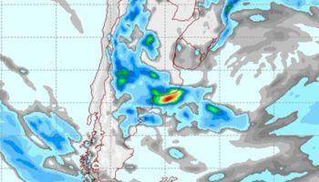 El pronóstico del clima anticipa lluvias para la región oeste del país
