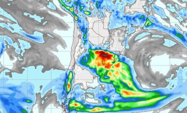 Pronóstico de lluvias para el viernes 10 de marzo.