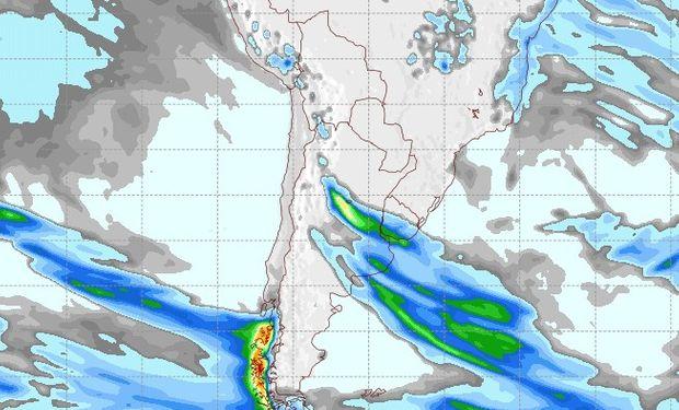 Pronóstico de lluvias para el 20 de septiembre.