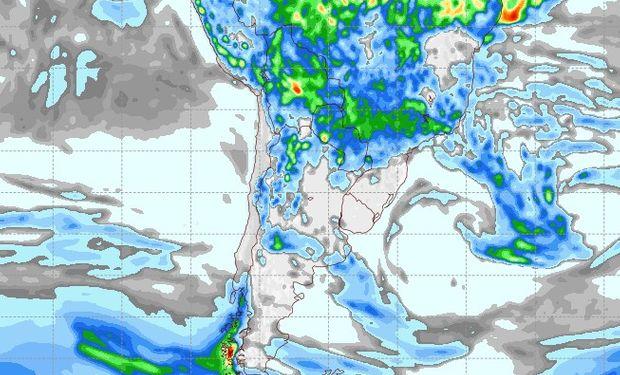 Pronóstico de lluvias para el 18 de febrero.
