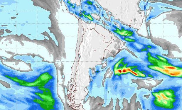 Pronóstico lluvias jueves 14 de junio.