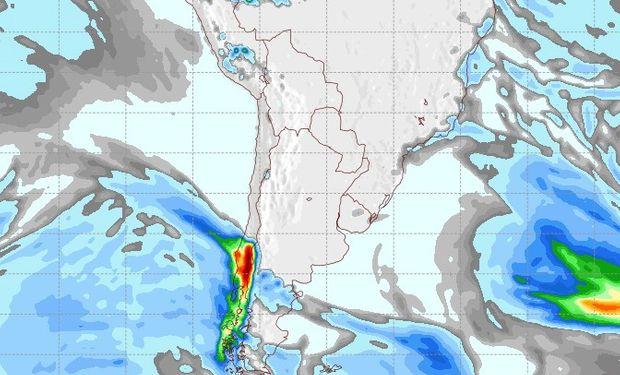 Pronóstico de lluvias para el viernes 1° de agosto.