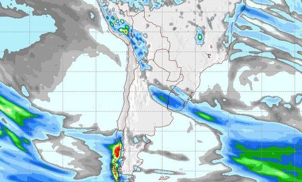 Pronóstico de lluvias para el 21 de septiembre.