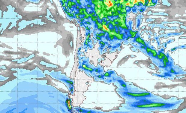 Pronóstico de lluvias para el 19 de febrero.