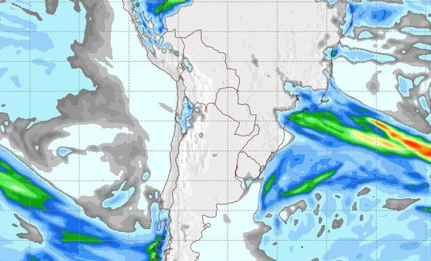 Pronóstico lluvias sábado 16 de junio.