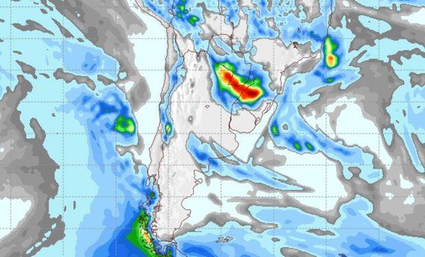 Pronóstico clima para el miércoles 24 de mayo.