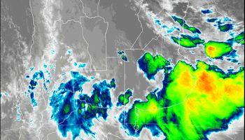 Acumulados de lluvia: en dónde tuvieron mayor alcance las precipitaciones hasta ahora