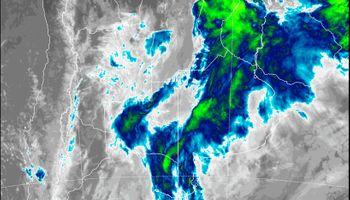 El Servicio Meteorológico Nacional alerta por lluvias y tormentas de variada intensidad