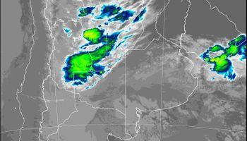 Avanza un sistema frontal: dejó algunas precipitaciones sobre una zona muy necesitada