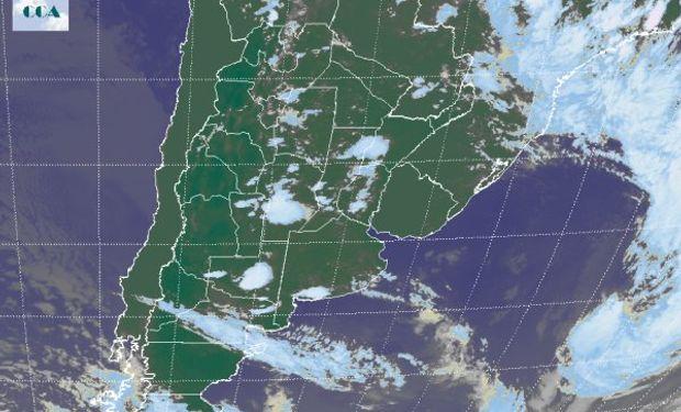 Las marcas térmicas que durante ayer han sido elevadas disminuirán por el pasaje del sistema meteorológico.