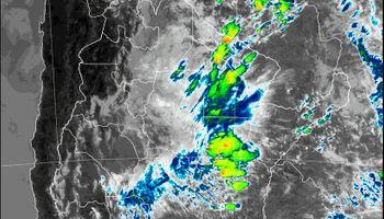 9 provincias del norte están bajo alerta por tormentas del Servicio Mateorológico Nacional